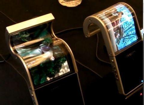 Samsung fabricará pantallas flexibles