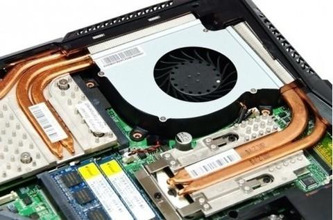 MUNDO PC - El sistema de refrigeración de un portátil -