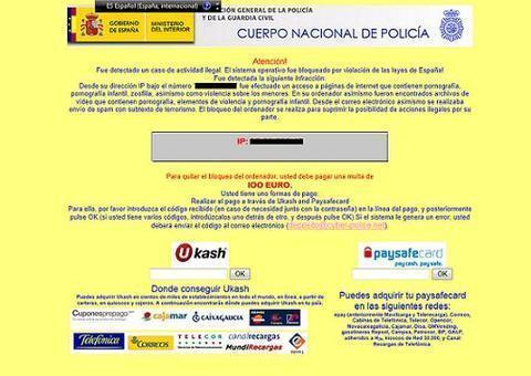 En España, el 33,3% de los ordenadores está infectado