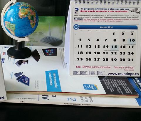 MUNDO PC - TecnoConsejo Agosto de Mundo PC: ¿Cómo puedo controlar a mis empleados? -