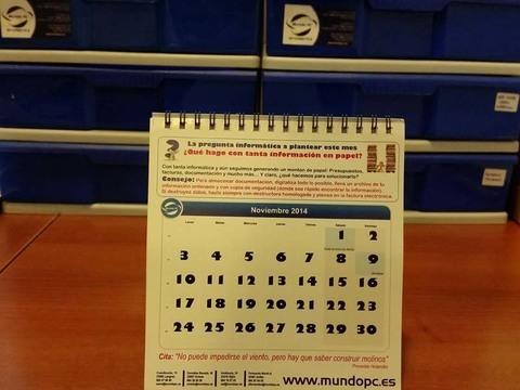 Tecnoconsejo Noviembre de Mundo PC: ¿Qué hago con tanta información en papel?