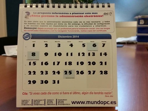 TecnoConsejo Diciembre de Mundo PC: ¿Cómo gestiono la administración electrónica?