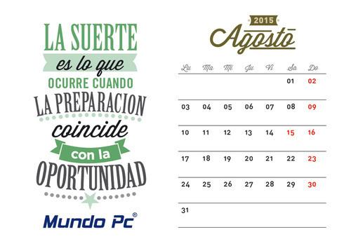 Calendario Agosto: Aplicaciones móviles de utilidad para el trabajo diario