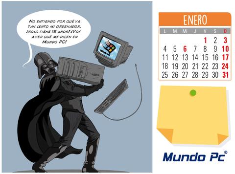 MUNDO PC - Calendario 2016 Mundo PC - Enero -