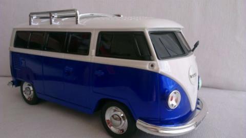 MUNDO PC - Altavoces con forma de furgoneta -