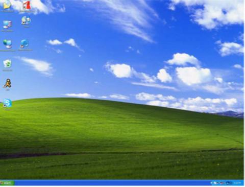 Curiosidades: El monte de Windows XP