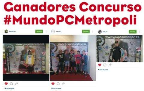MUNDO PC - Ganadores concurso #MundoPCMetropoli -