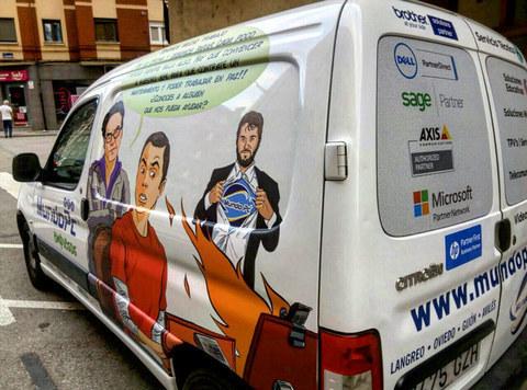 MundoPC Informática estrena furgoneta #MundoPCNeta