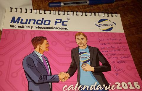Pachu M. Torres nos dedica el calendario MundoPC 2016