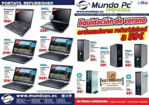 MUNDO PC - Equipos Refurbished para empresas -