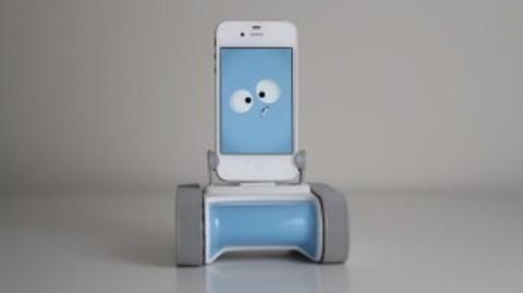 MUNDO PC - Romo, un iPhone convertido en robot -