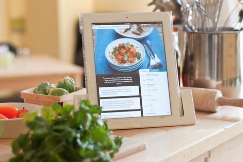 MUNDO PC - Cocinando con un iPad -